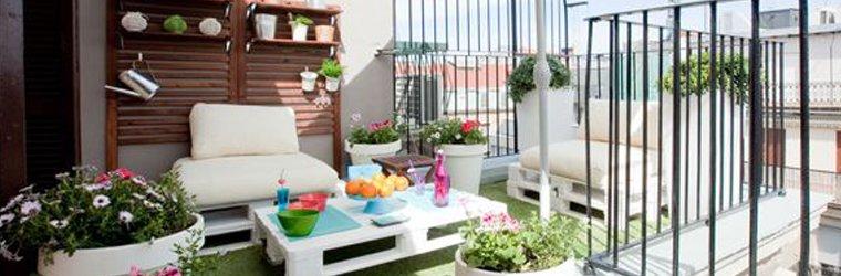como decorar tu terraza
