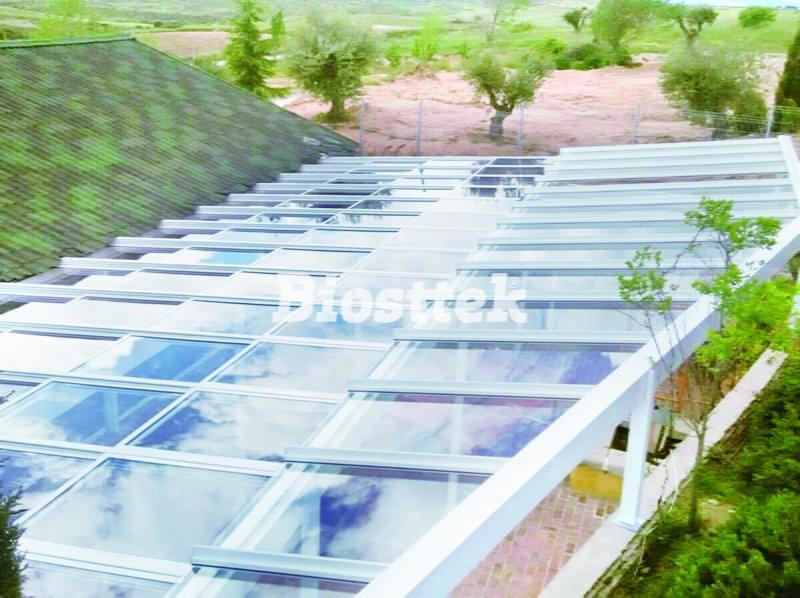 techo de vidrio 75 techo movil