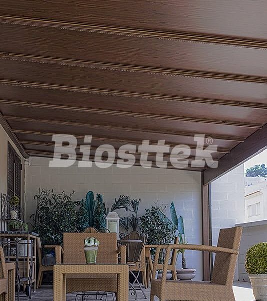 Biosttek - Techo fijo autoportante
