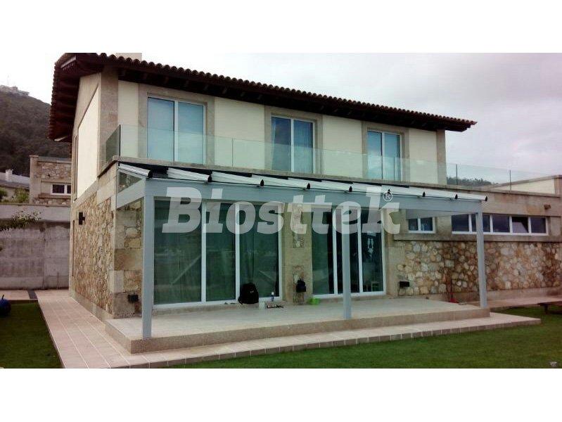 Techo fijo de vidrio Biosttek