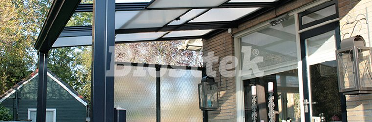 The charm of the polycarbonate ceilings for patios biosttek - Techos para porches ...