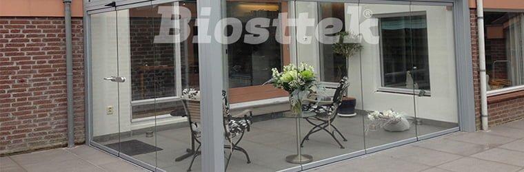 Techos de vidrio y aluminio para  fachadas modernas