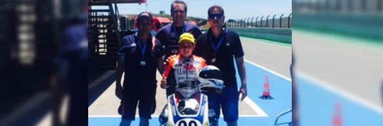 Doble victoria para Carlos Tatay en la Moriwaki 250 Junior Cup disputada en el Circuito de Portimao