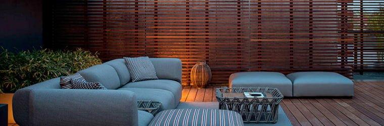 terrazas con encanto - minimalista