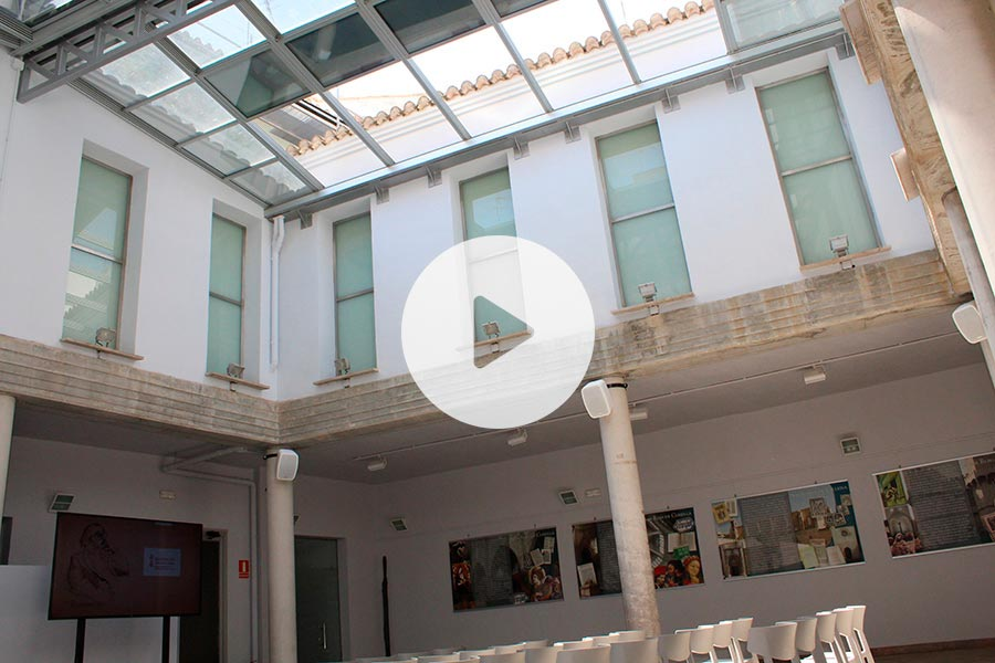 Proyecto Museu Joan Fuster Biosttek Techo Cristal